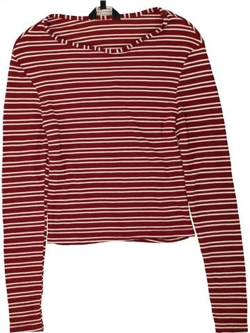 T-shirt manches longues fille NEW LOOK marron 13 ans hiver #1491087_1