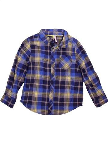 Camisa de manga larga niño ORCHESTRA azul 4 años invierno #1491192_1