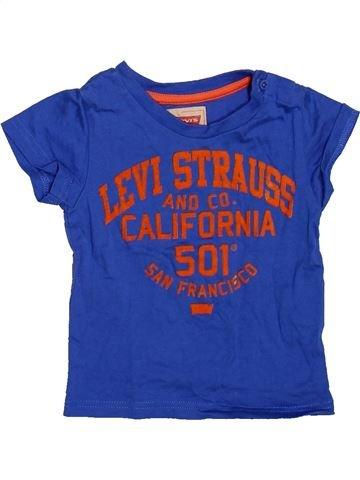 T-shirt manches courtes garçon LEVI'S bleu 12 mois été #1491289_1