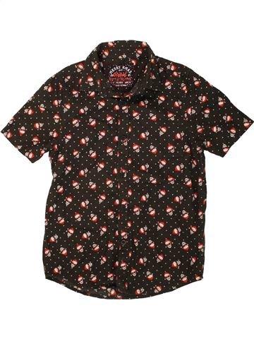 Chemise manches courtes garçon PRIMARK marron 11 ans été #1491290_1