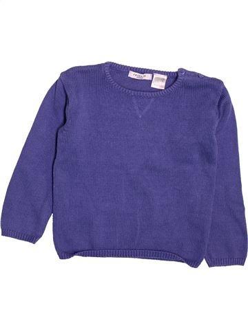 jersey niño LA REDOUTE CRÉATION azul 4 años invierno #1491523_1