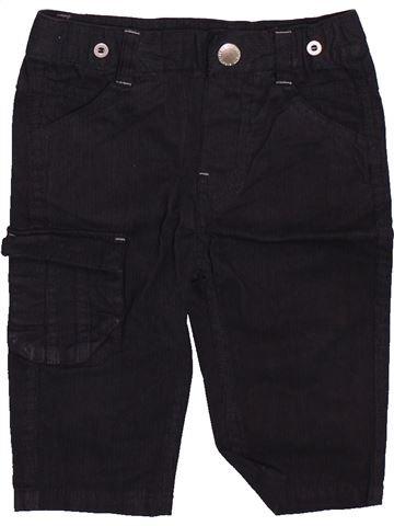 Pantalon garçon GEMO noir 6 mois hiver #1491607_1
