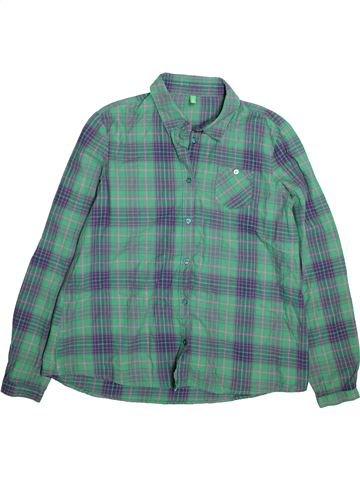Blouse manches longues fille BENETTON vert 12 ans hiver #1491650_1