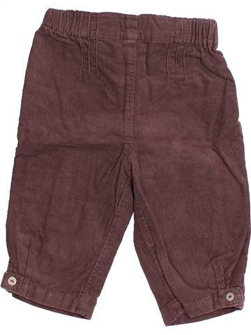 Pantalón niña CYRILLUS violeta 6 meses invierno #1491685_1