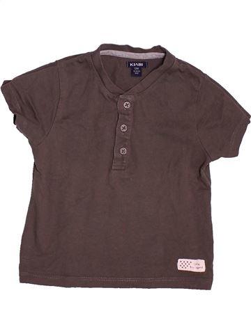 T-shirt manches courtes garçon KIABI violet 12 mois été #1491845_1
