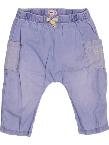 Pantalon garçon BRIOCHE violet 9 mois été #1491860_1