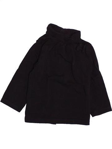 T-shirt col roulé fille KIABI noir 6 mois hiver #1491901_1