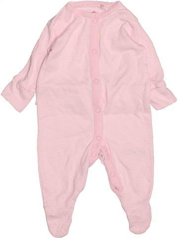 Pyjama 1 pièce fille NEXT rose 1 mois été #1491987_1