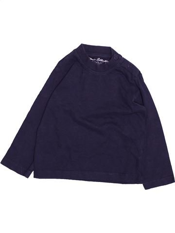 T-shirt manches longues garçon MAYORAL bleu 12 mois hiver #1492138_1