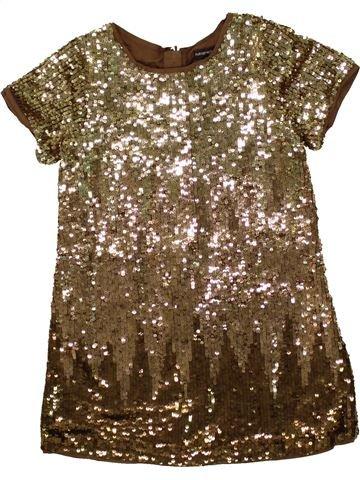 Vestido niña MARKS & SPENCER marrón 6 años invierno #1492142_1