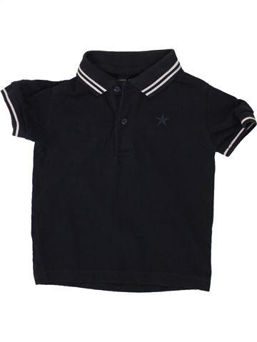 Polo manches courtes garçon NEXT noir 18 mois été #1492161_1