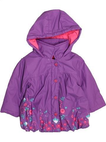 Manteau fille ORCHESTRA violet 6 mois hiver #1492399_1