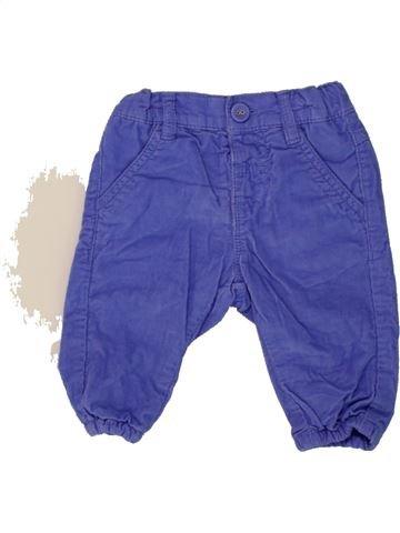 Pantalon fille MARKS & SPENCER violet 3 mois hiver #1492427_1