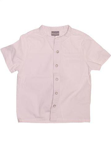 Chemise manches courtes garçon VERTBAUDET blanc 2 ans été #1492437_1