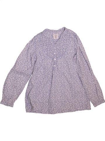 Blouse manches longues fille H&M gris 8 ans hiver #1492446_1