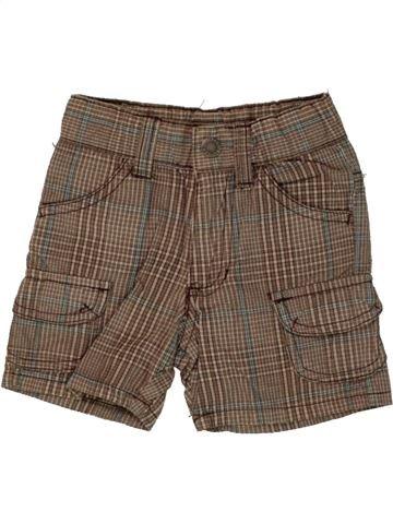 Short - Bermuda garçon IMPIDIMPI marron 6 mois été #1492451_1