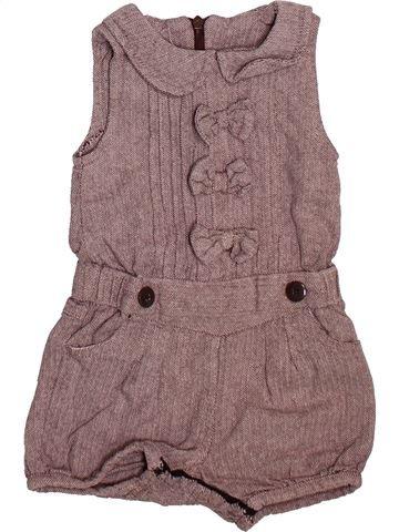 Combinación corta niña KIMBALOO marrón 6 meses invierno #1492474_1