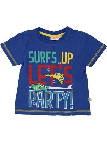 T-shirt manches courtes garçon LIEGELIND bleu 2 ans été #1492484_1