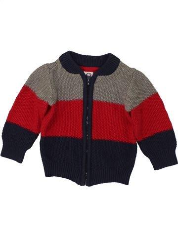 Chaleco niño C&A marrón 6 meses invierno #1492573_1