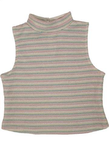 Camiseta de cuello alto niña I LOVE GIRLSWEAR gris 6 años invierno #1492690_1