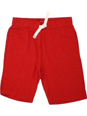 Short - Bermuda garçon F&F rouge 13 ans été #1492697_1