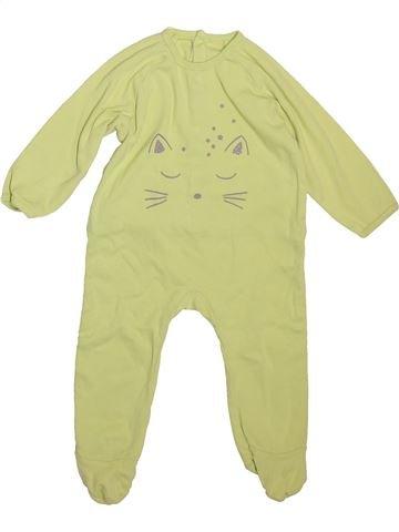 Pyjama 1 pièce unisexe VERTBAUDET vert 9 mois été #1492747_1