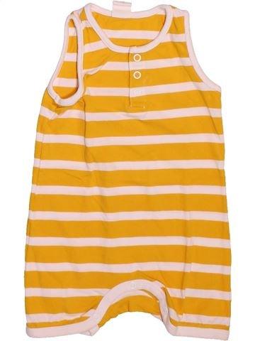 Combinaison courte garçon H&M jaune 6 mois été #1492749_1