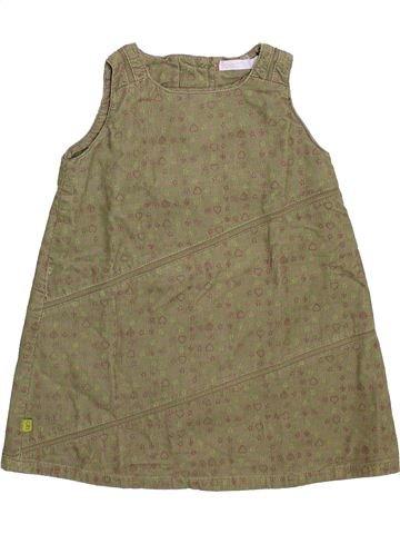 Robe fille OKAIDI marron 12 mois hiver #1492758_1