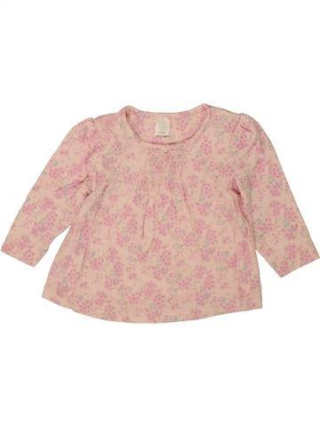 T-shirt col roulé fille MINI CLUB rose 9 mois hiver #1492776_1