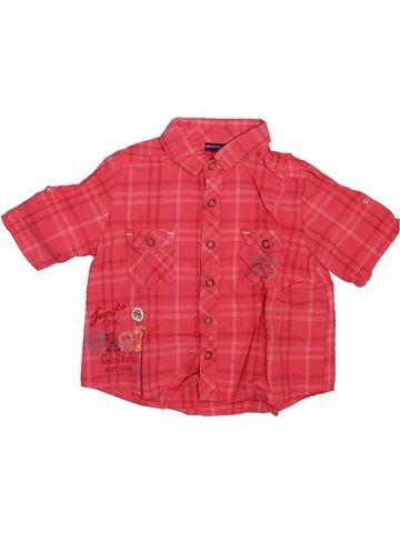 Chemise manches courtes garçon SERGENT MAJOR rose 12 mois été #1492832_1