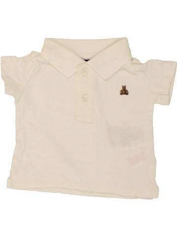 Polo manches courtes garçon GAP beige 3 mois été #1492865_1