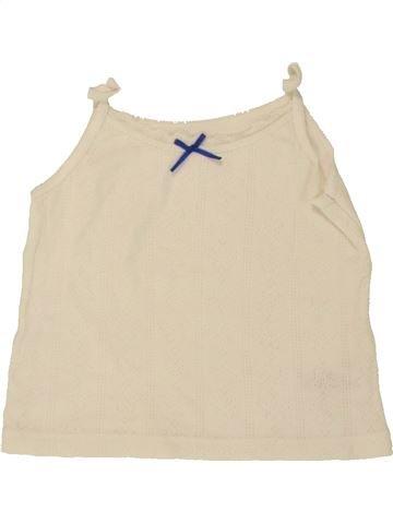 T-shirt sans manches fille PRIMARK bleu 2 ans été #1492896_1