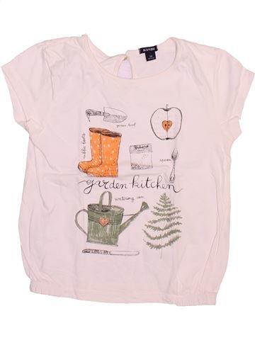 T-shirt manches courtes fille KIABI rose 5 ans été #1492957_1