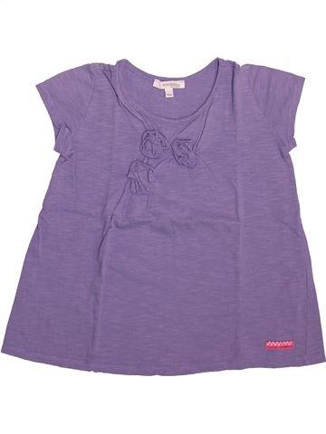 Camiseta de manga corta niña CONFETTI violeta 6 años verano #1492999_1