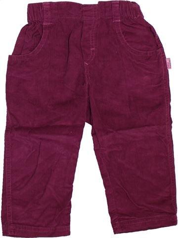 Pantalon fille NANO & NANETTE violet 18 mois hiver #1493026_1