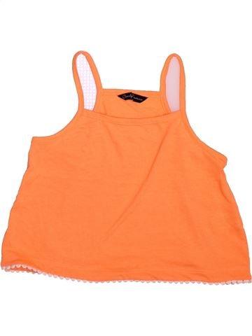T-shirt sans manches fille CANDY COUTURE orange 10 ans été #1493157_1