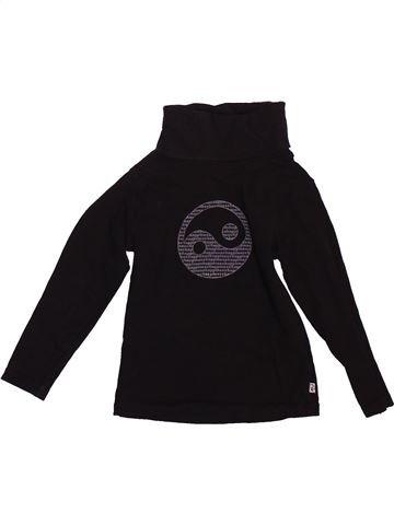 T-shirt col roulé garçon OKAIDI noir 2 ans hiver #1493250_1