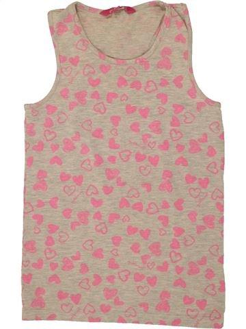 T-shirt sans manches fille PINEAPPLE rose 10 ans été #1493252_1