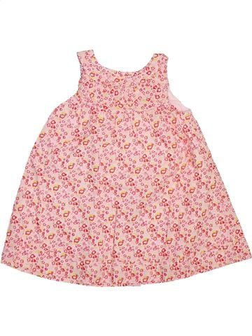 Robe fille DPAM rose 6 mois été #1493351_1