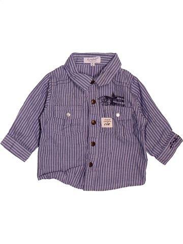 Camisa de manga larga niño ALPHABET violeta 3 meses invierno #1493374_1