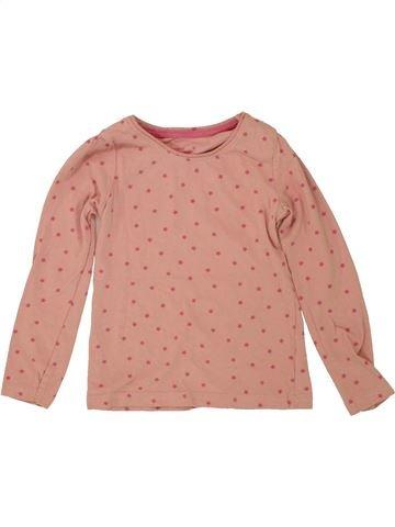 T-shirt manches longues fille PRIMARK rose 5 ans hiver #1493432_1
