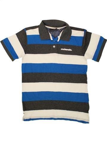 Polo manches courtes garçon MCKENZIE bleu 12 ans été #1493460_1