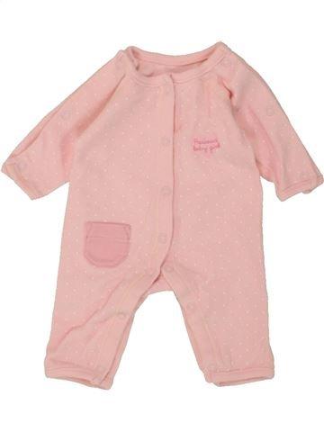 Combinación larga niña GEORGE rosa prematuro verano #1493707_1