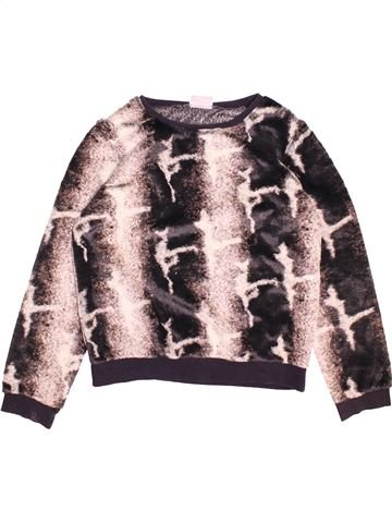 Pull fille I LOVE GIRLSWEAR gris 11 ans hiver #1493752_1