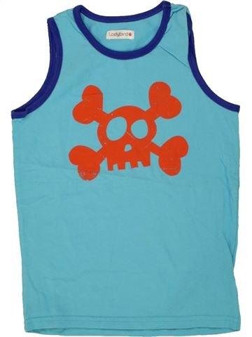 Top - Camiseta de tirantes niño LADYBIRD azul 7 años verano #1493799_1