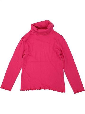 Camiseta de cuello alto niña LUPILU rosa 6 años invierno #1493800_1