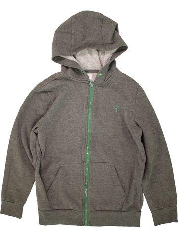 Sweat garçon F&F gris 11 ans hiver #1493807_1