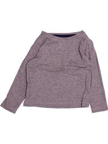 T-shirt manches longues garçon PRIMARK gris 2 ans hiver #1493850_1
