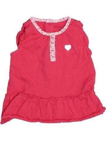 T-shirt sans manches fille SERGENT MAJOR rose 6 mois été #1493925_1
