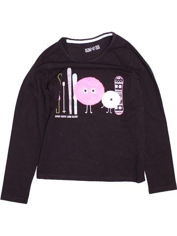 T-shirt manches longues fille MARKS & SPENCER noir 10 ans hiver #1493948_1